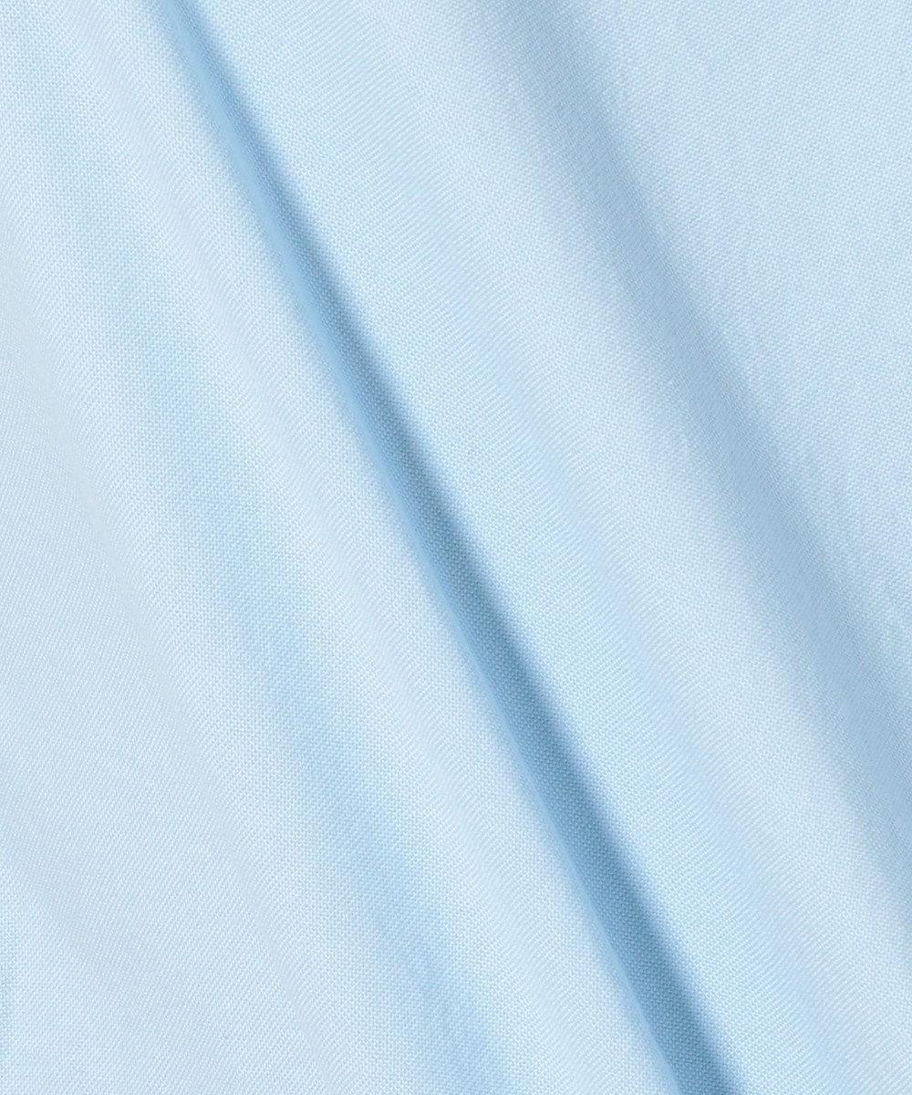J.PRESS MEN AMERICANOX 半袖B.Dシャツ サックスブルー系