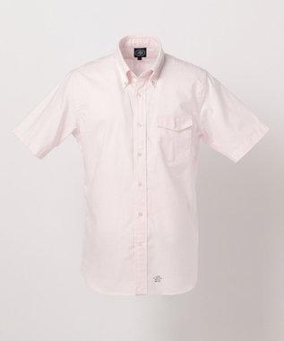 J.PRESS MEN 【ORIGINALS】ヴィンテージオックス キャンディーストライプ 半袖シャツ ピンク系1