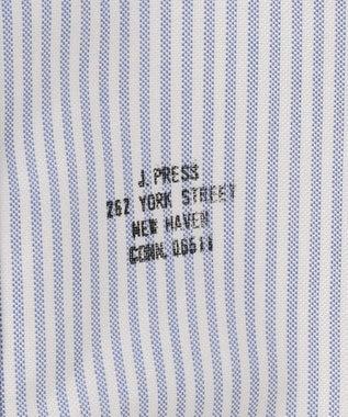 J.PRESS MEN 【ORIGINALS】ヴィンテージオックス キャンディーストライプ 半袖シャツ ダルブルー系1