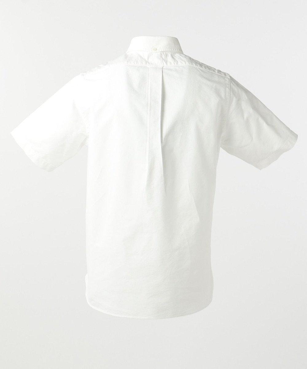 J.PRESS MEN オックス /  NEW YORKロゴ半袖 シャツ ブラック系