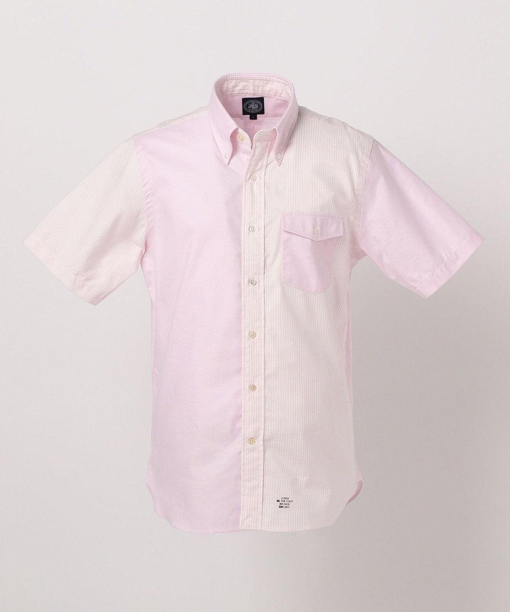 J.PRESS MEN 【ORIGINALS】ヴィンテージオックス クレイジーパターン シャツ ピンク系1
