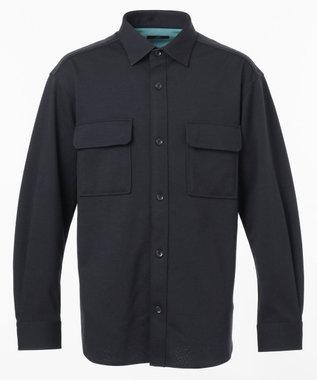 ウールリバージャージーシャツアウター