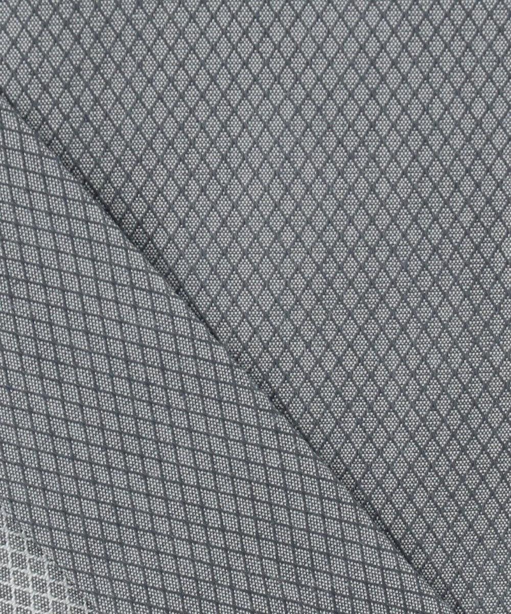 CK CALVIN KLEIN MEN 【形態安定】シャンブレーダイヤドビーストレッチ シャツ/レギュラーカラー ライトグレー系