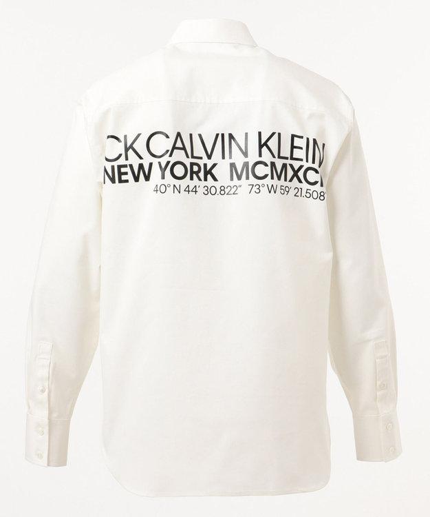 CK CALVIN KLEIN MEN コーディネーテス ロゴプリンテッド シャツ