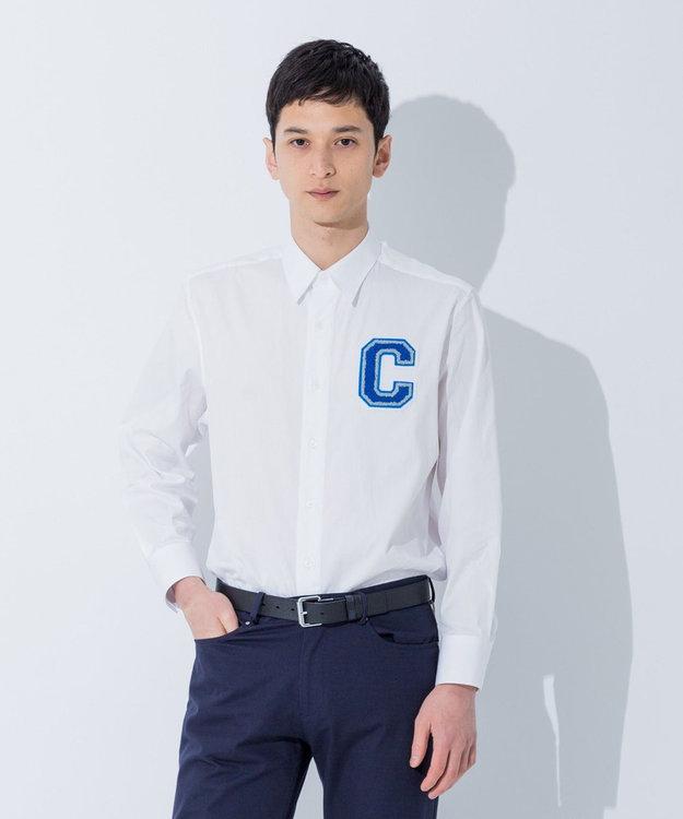CK CALVIN KLEIN MEN 【大人気ロゴシリーズ】ストラクチュアルオックスフォード シャツ