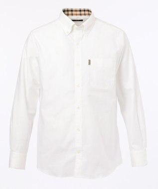 DAKS 【WEB&一部店舗限定】オックスフォード ボタンダウン シャツ ホワイト系