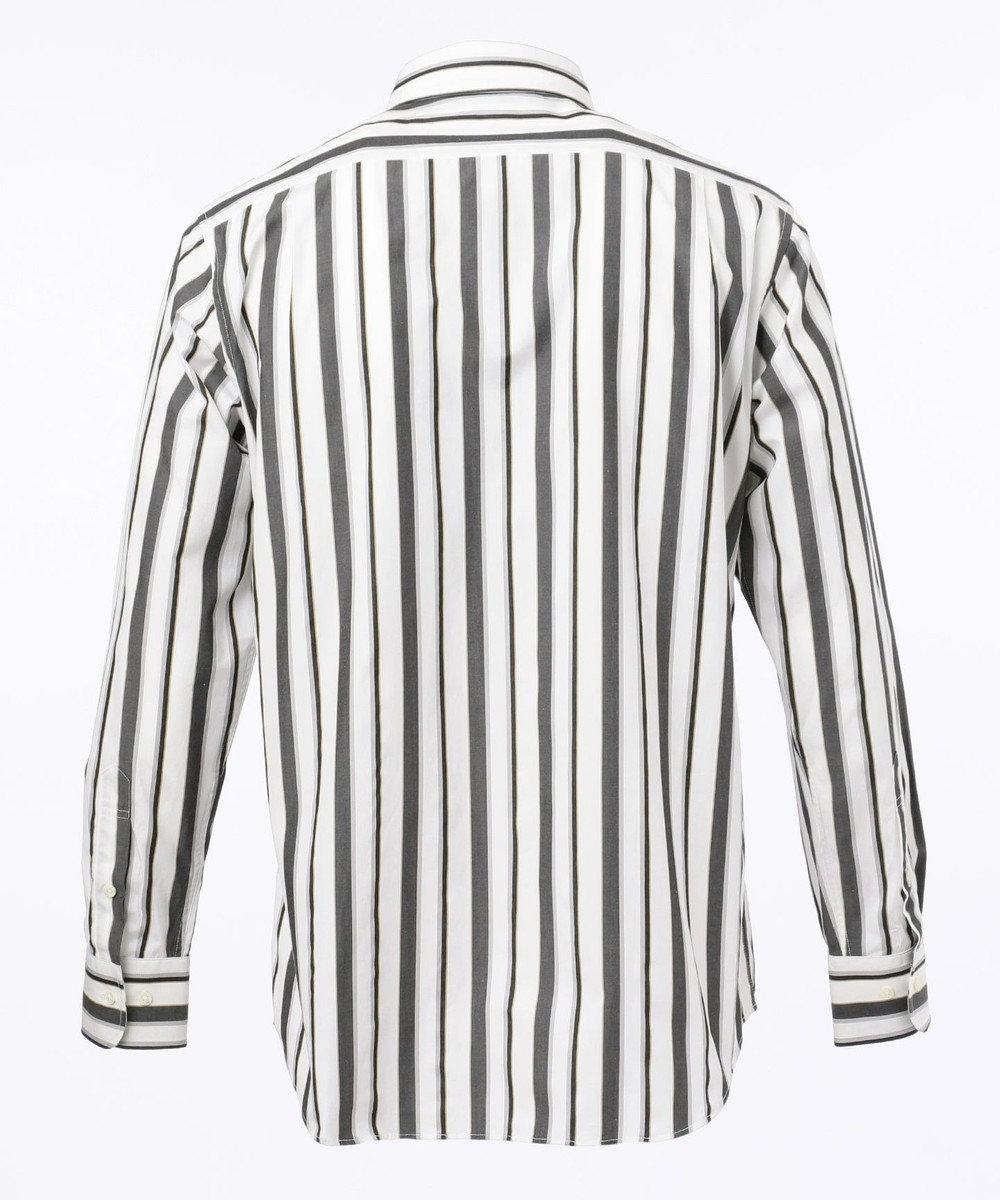 DAKS 【WEB&一部店舗限定】ブロードマルチストライプ シャツ ブラック系2