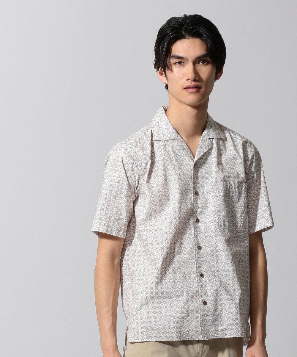 GOTAIRIKU マラケシュスラブプリント シャツ ベージュ系8