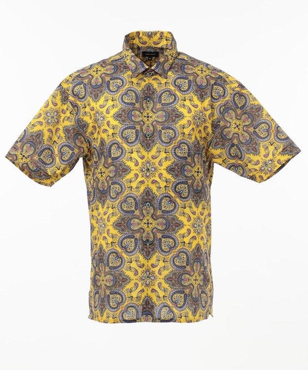 JOSEPH HOMME リバティプリント 半袖シャツ