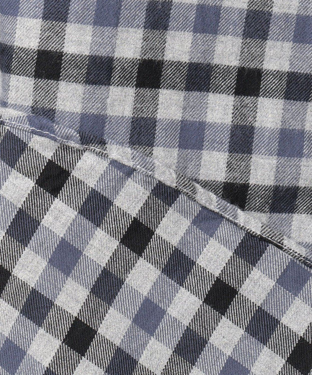 JOSEPH HOMME ブロックチェックピーチ シャツ