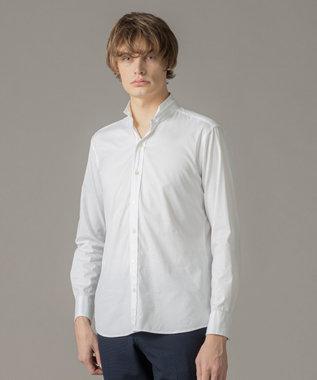 【WEB限定色あり】オックスストレッチシャツ / ウィングカラー