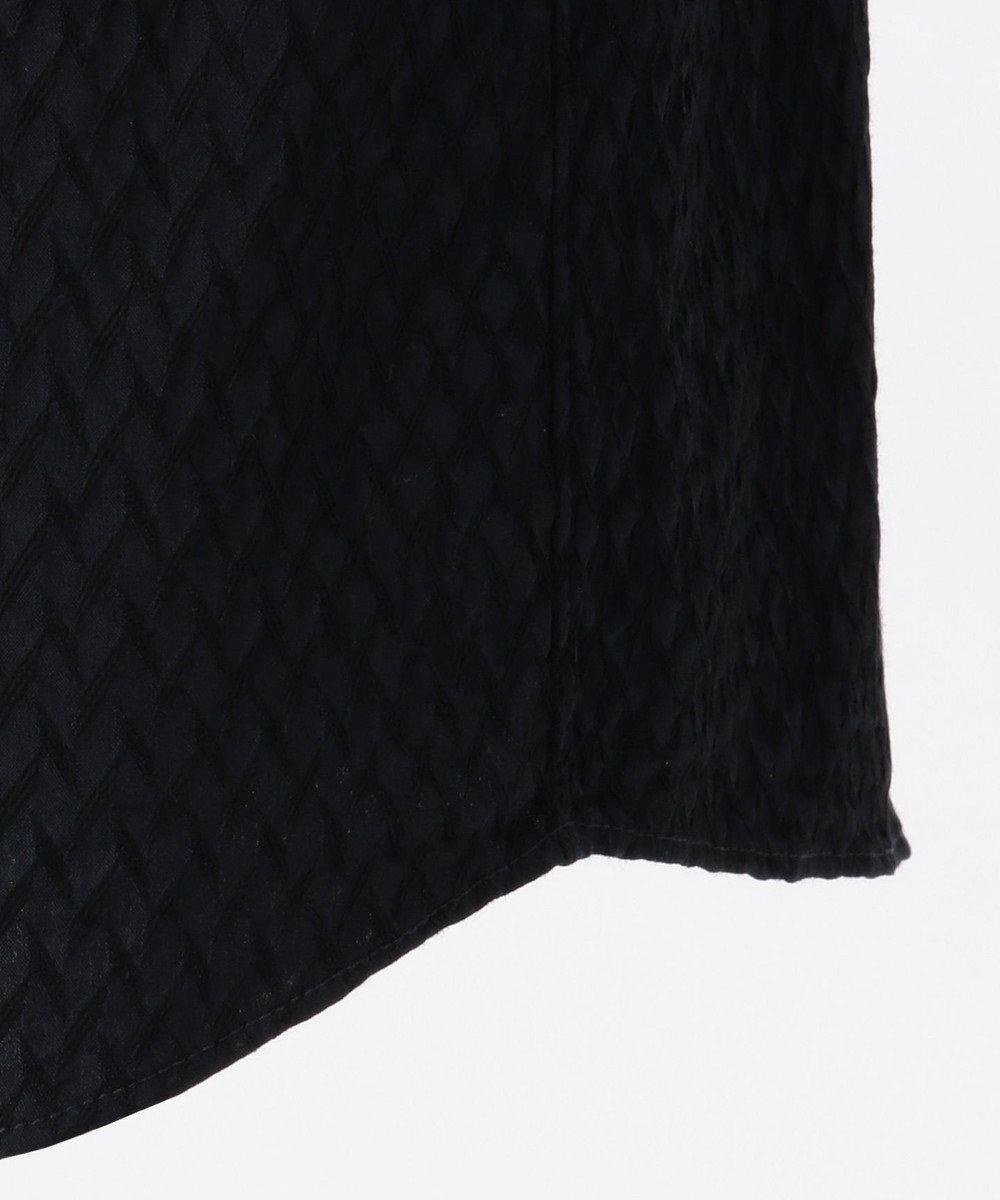 JOSEPH HOMME アロージャガードストレッチ シャツ ネイビー系