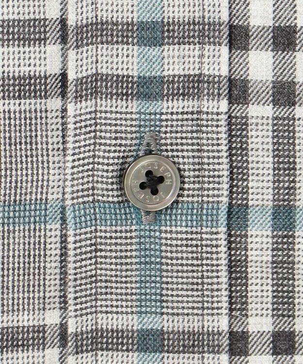 JOSEPH HOMME 【なめらかな肌触り】コットンビエラブロック レギュラーカラー シャツ