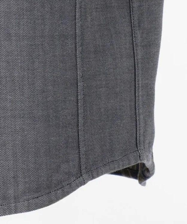 JOSEPH ABBOUD 【キングサイズ・1枚で2スタイリング】リバーシブルストライプ シャツ