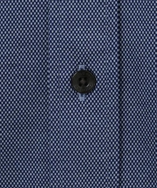 JOSEPH ABBOUD 【キングサイズ・着心地抜群】コンパクトジャージバーズアイ シャツ ネイビー系