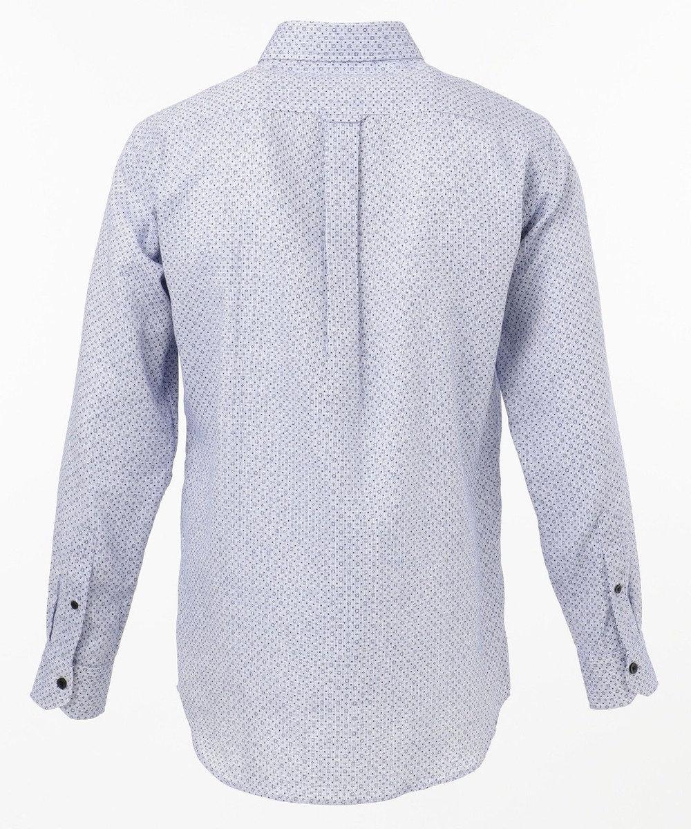 JOSEPH ABBOUD ソアロンシャンブレープリント シャツ ブルー系5