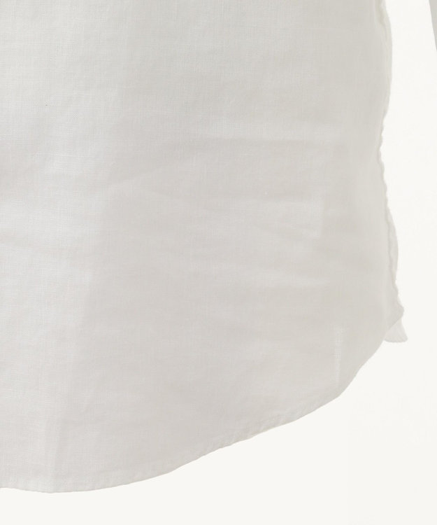 JOSEPH ABBOUD 【COLLECTION】カンクリーニホワイトリネン シャツ