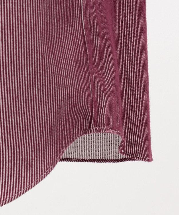 JOSEPH ABBOUD 【JOE COTTON】カラーコードピケストライプ シャツ