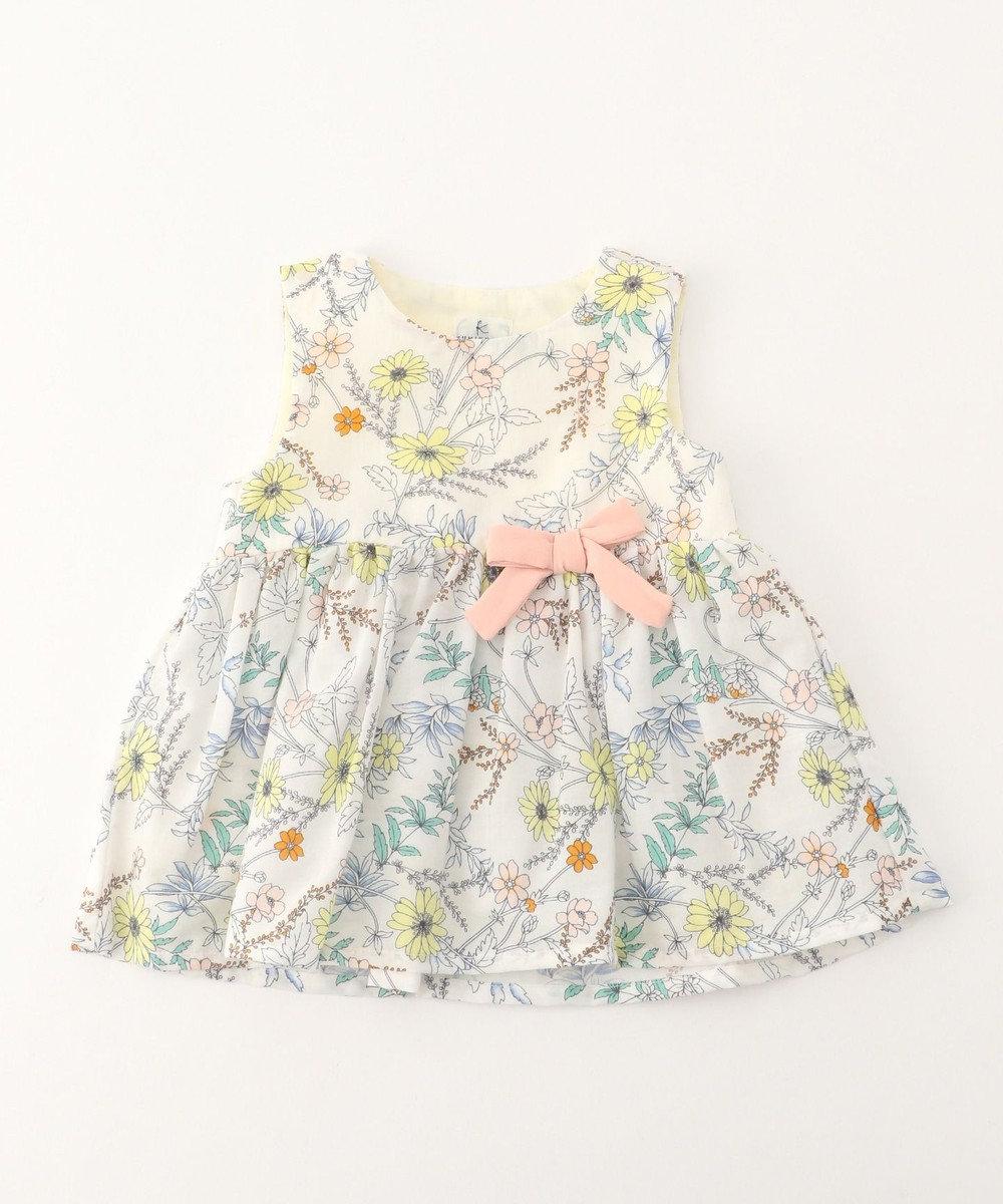 組曲 KIDS 【BABY】ナチュレフルール ワンピース アイボリー系5