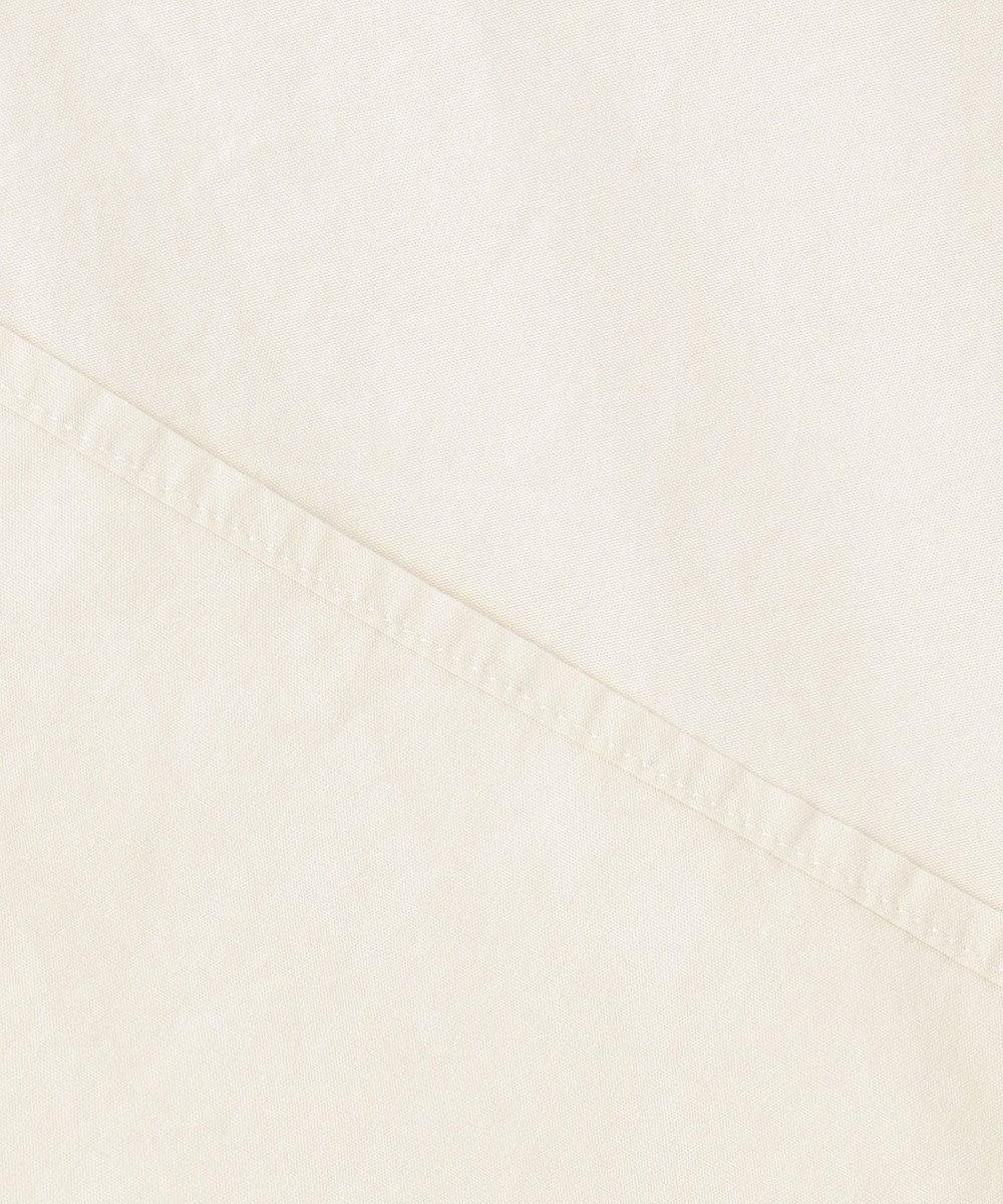 SHARE PARK MENS ミリタリーノーカラーシャツ ホワイト系