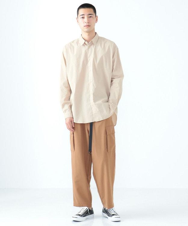 SHARE PARK MENS ガーメントダイレギュラーカラーシャツ