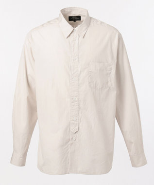 SHARE PARK MENS ヴィンテージウォッシュレギュラーカラーシャツ アイボリー系