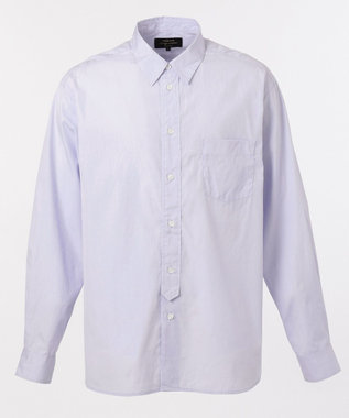 SHARE PARK MENS ヴィンテージウォッシュレギュラーカラーシャツ ライトグレー系