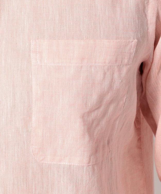 23区HOMME 【洗える】ALBIATEリネシャンブレー シャツ