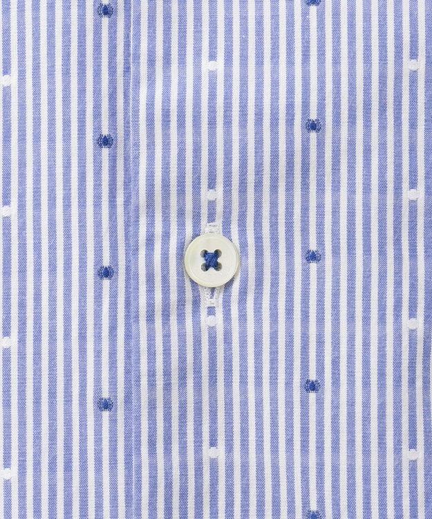 23区HOMME 【洗える】カットドビーストライプ シャツ