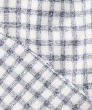 23区HOMME 【洗える】コンパクトメランジチェック シャツ ブルー系3