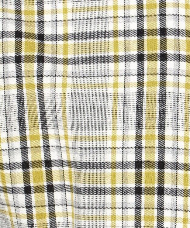 23区HOMME 【洗える】カシミヤタッチコットンチェック シャツ
