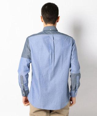 J.PRESS MEN 【WEB&一部店舗限定】クレイジー フロントカット シャツ ネイビー系9