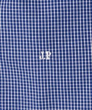 J.PRESS MEN 【WEB&一部店舗限定】クレイジー ブルーチェックグラデーション シャツ ブルー系9