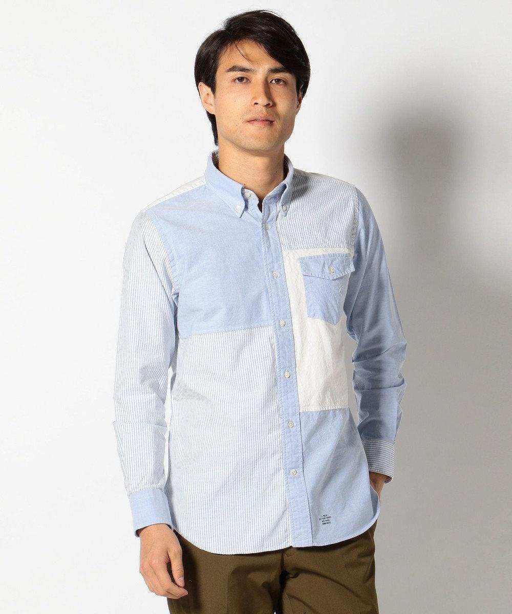 J.PRESS MEN ヴィンテージオックスクレイジー B.Dシャツ ピンク系8