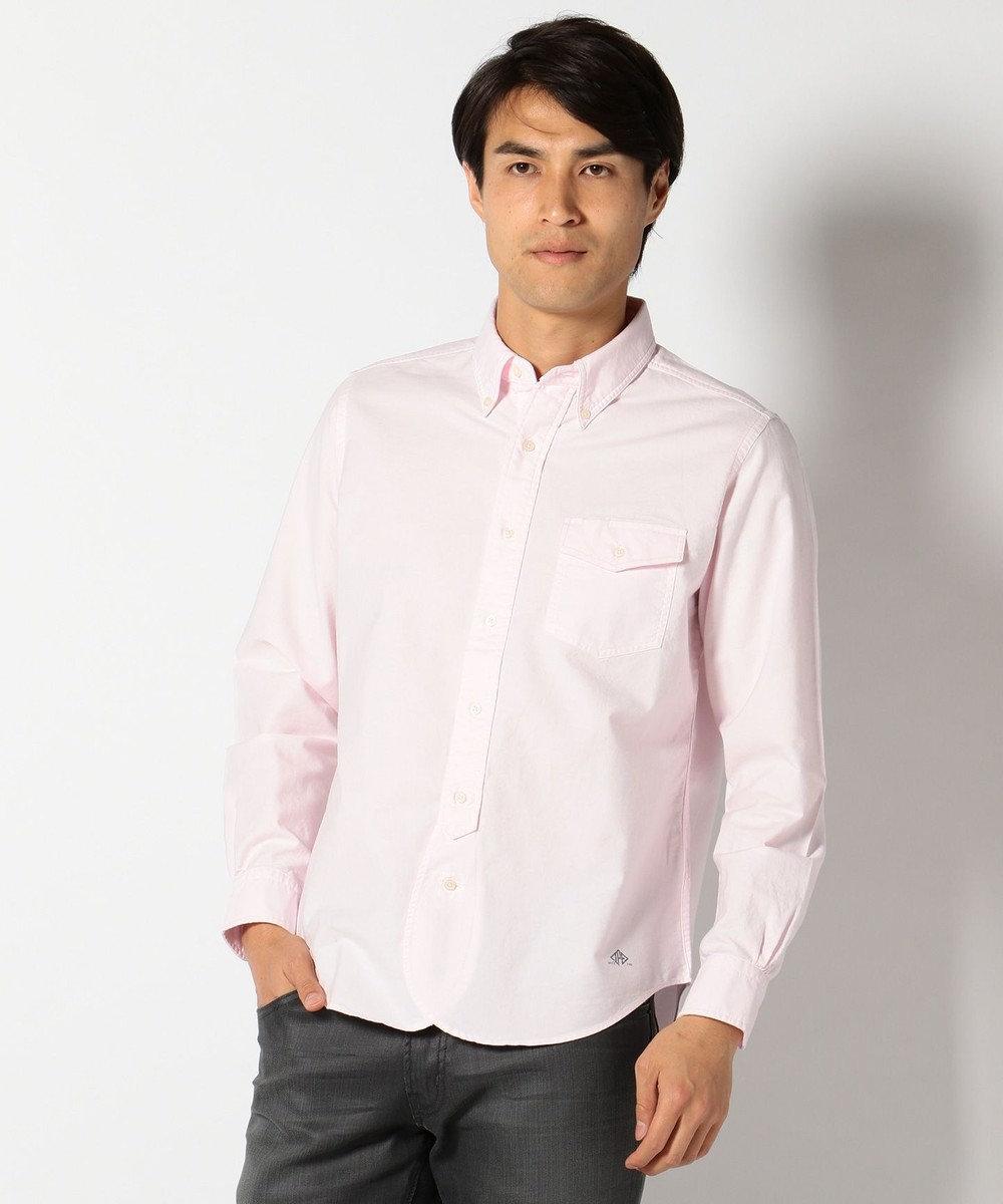 J.PRESS MEN AMERICANOX B.Dシャツ ピンク系