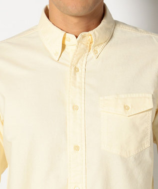 J.PRESS MEN AMERICANOX B.Dシャツ イエロー系