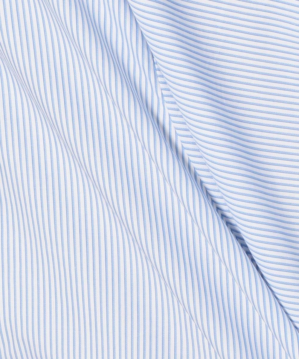 J.PRESS MEN ポプリンロンスト バンドカラーシャツ スカイブルー系1