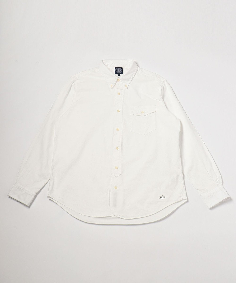 J.PRESS MEN 【キングサイズ】AMERICANOX B.Dシャツ ホワイト系