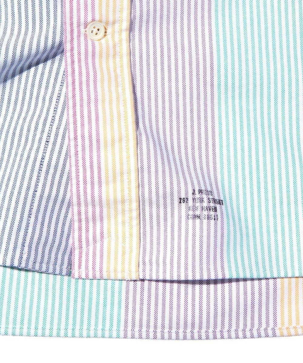 J.PRESS MEN 【J.PRESS ORIGINALS】OXFORD B.D. SHIRT CANDY ST BAGGY FIT ピンク系8