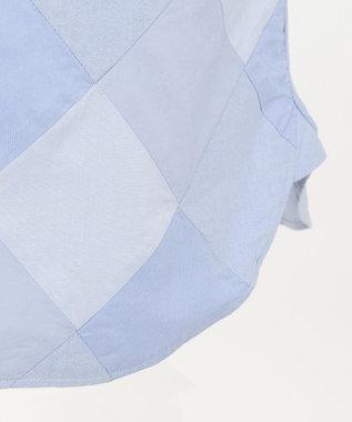 J.PRESS MEN OXポプリン アーガイルカット ボタンダウン シャツ ブルー系9