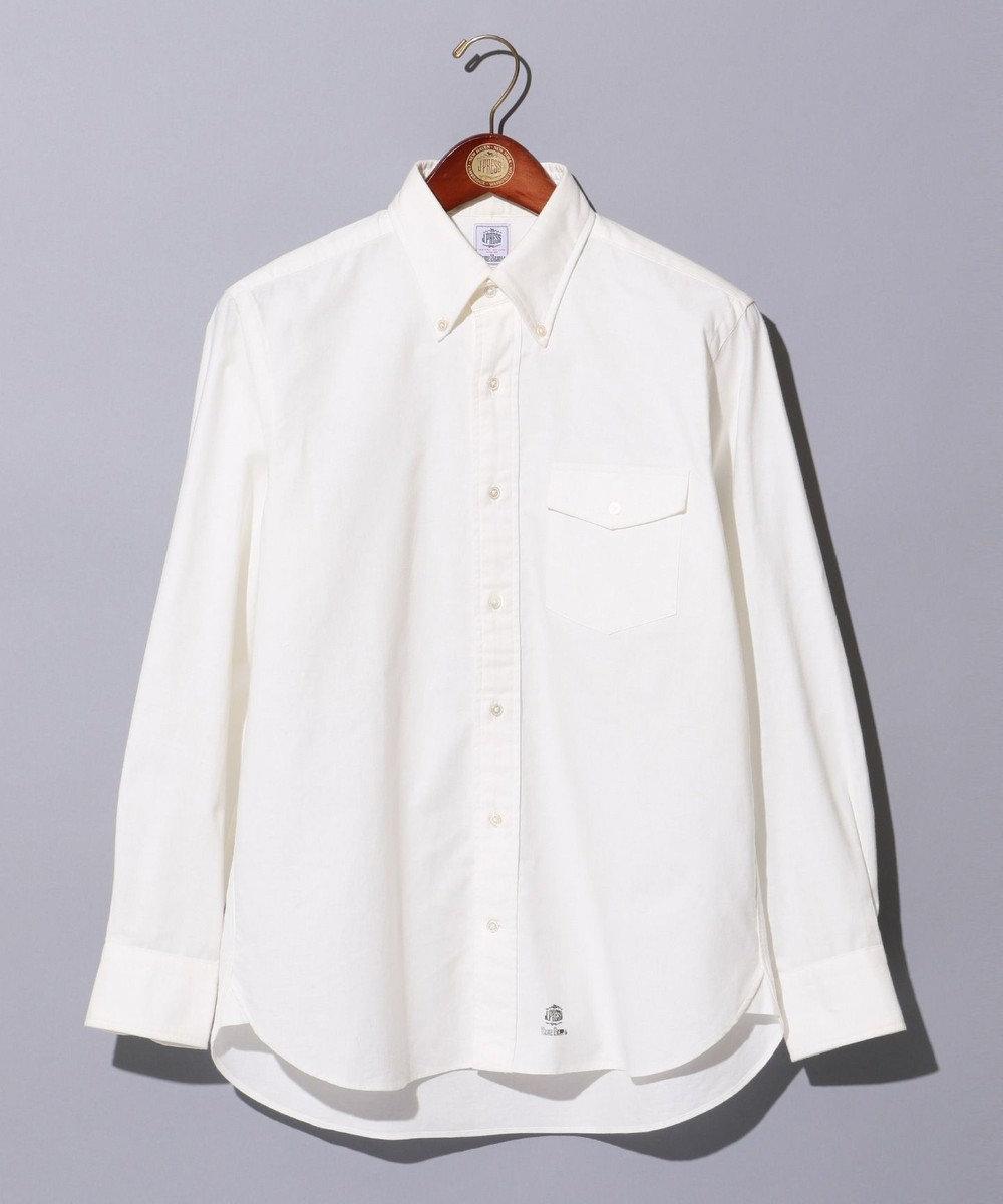 J.PRESS MEN 【BLUE BLUE×J.PRESS】Vintage OX アービングシャツ / ボタンダウン ホワイト系