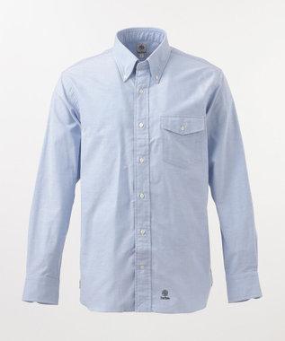 J.PRESS MEN 【BLUE BLUE×J.PRESS】Vintage OX アービングシャツ / ボタンダウン ダルブルー系