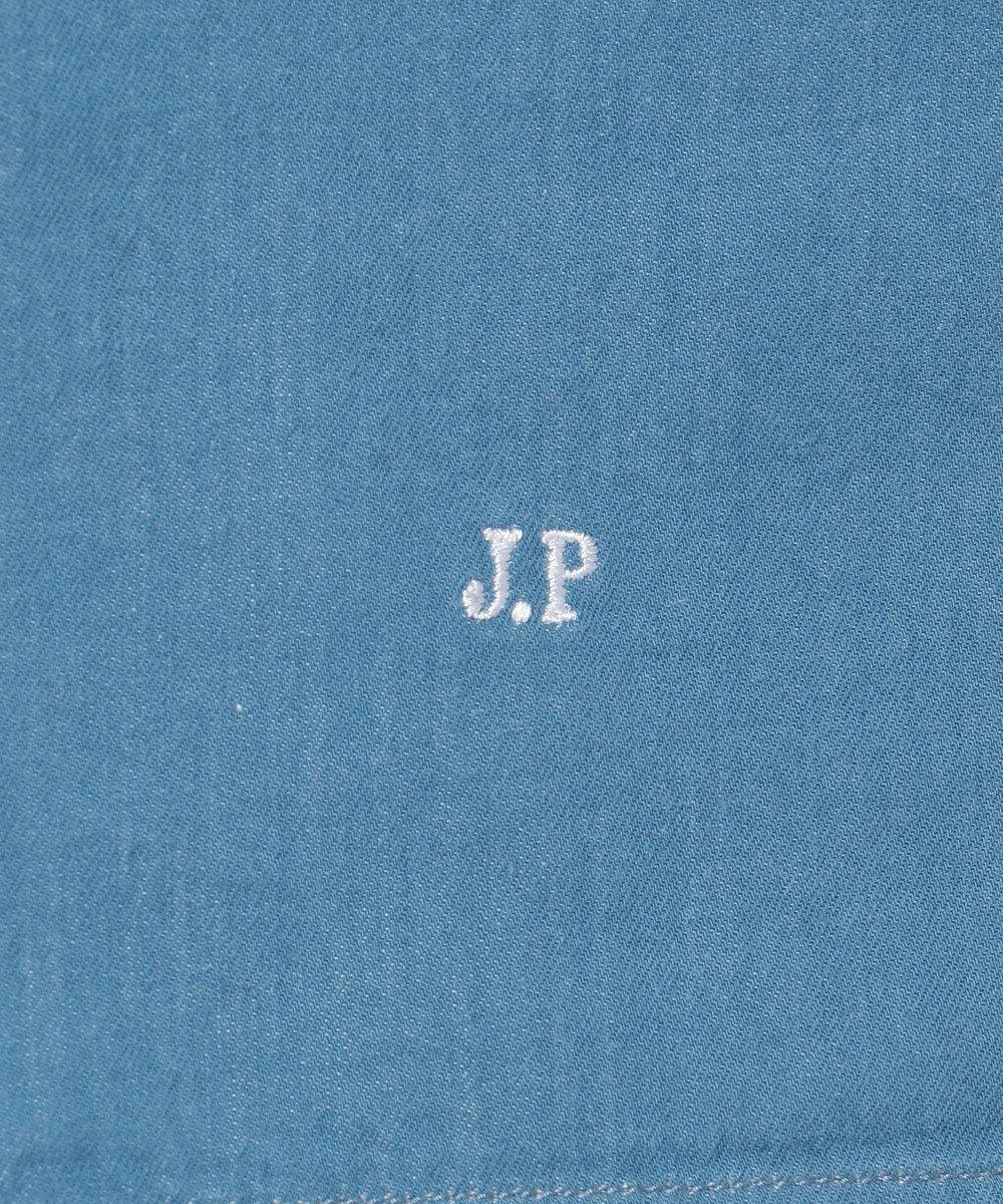 J.PRESS MEN ダブルパッチ アメリカンスプレッド シャツ サックスブルー系
