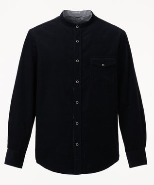J.PRESS MEN 【カタログ掲載】リバーシブルシャツ ブルゾン ネイビー系