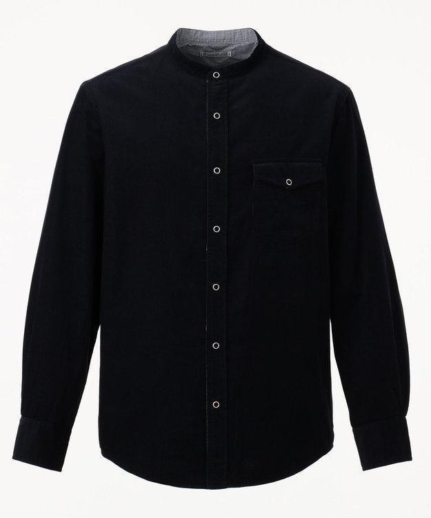 J.PRESS MEN 【カタログ掲載】リバーシブルシャツ ブルゾン