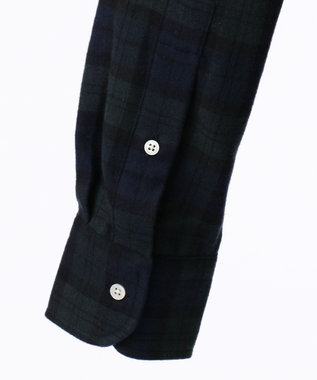 J.PRESS MEN 【BLUE BLUE×J.PRESS】アービングクレイジーパターン シャツ ネイビー系4