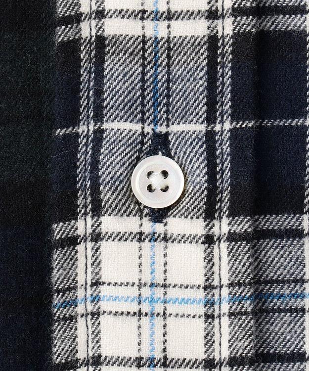 J.PRESS MEN 【BLUE BLUE×J.PRESS】アービングクレイジーパターン シャツ
