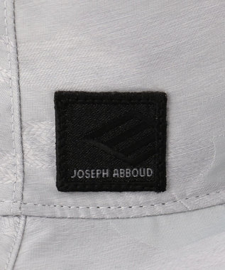 JOSEPH ABBOUD 【JOSEPH ABBOUD MOUNTAIN】インターレースカモフラージュ サファリ ハット ライトグレー系