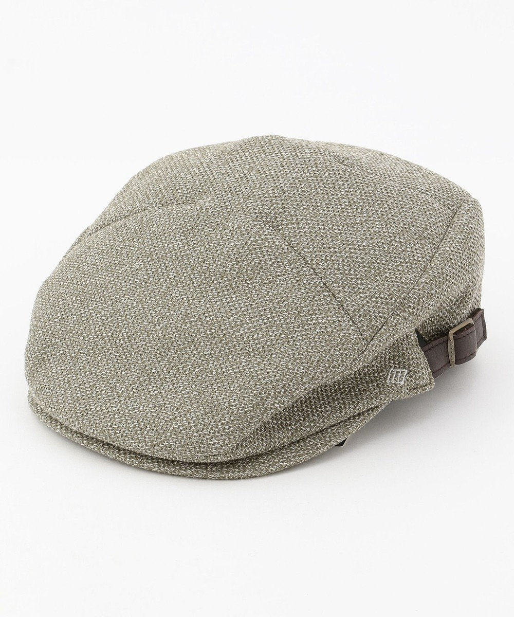 JOSEPH ABBOUD 【Made in Japan】ギマレノクロス ハンチング帽 ブルー系
