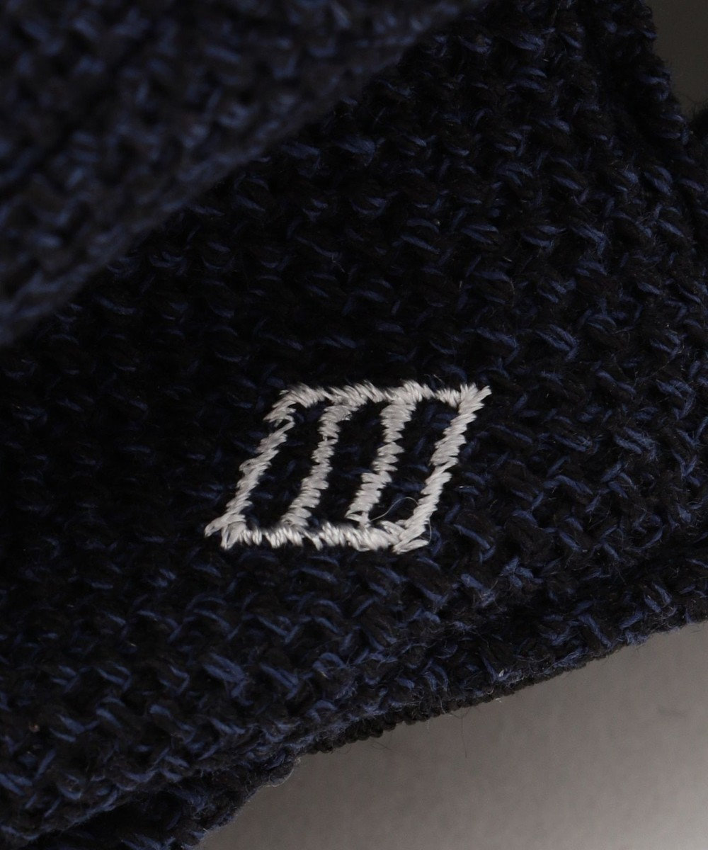JOSEPH ABBOUD 【Made in Japan】ギマレノクロス ハンチング帽 ネイビー系